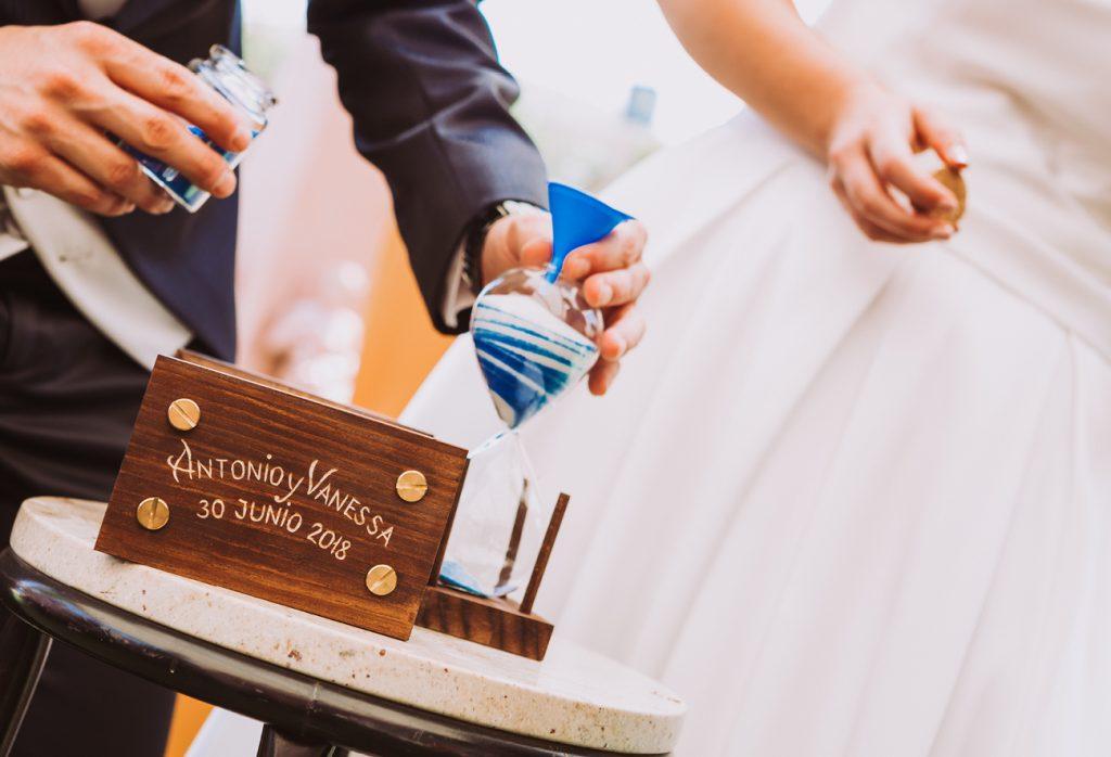 ceremonia arena boda