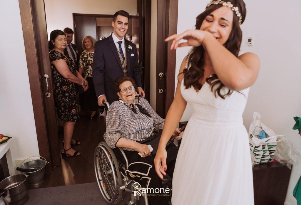 abuela de la novia