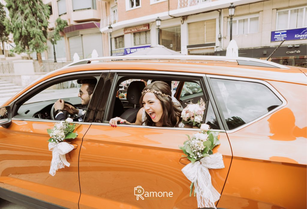 coche novia