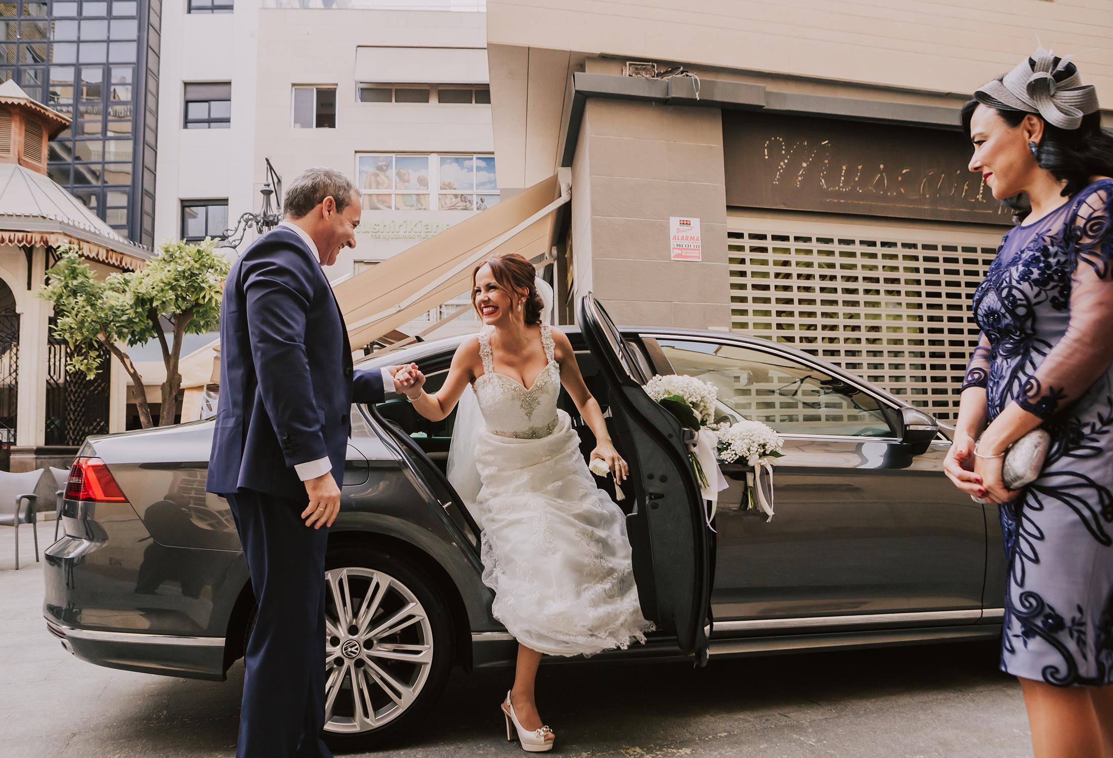 Fotografía de boda en Elche – María y Miguel – Hotel huerto del cura