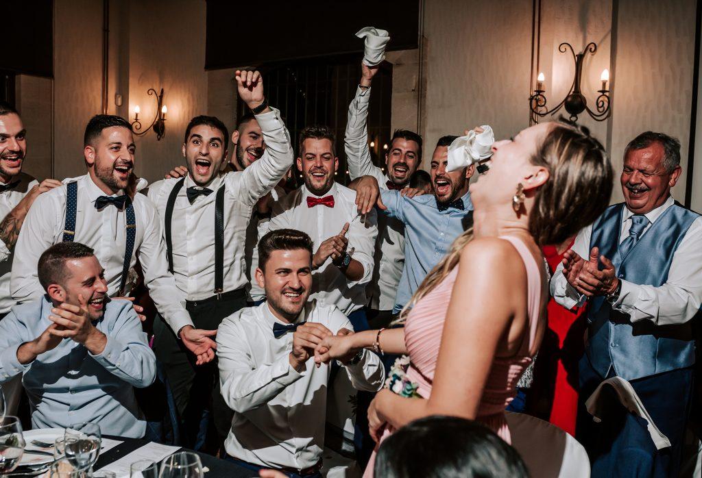 pedida de mano en la boda