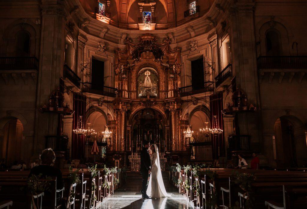 boda en basílica santa maría elche
