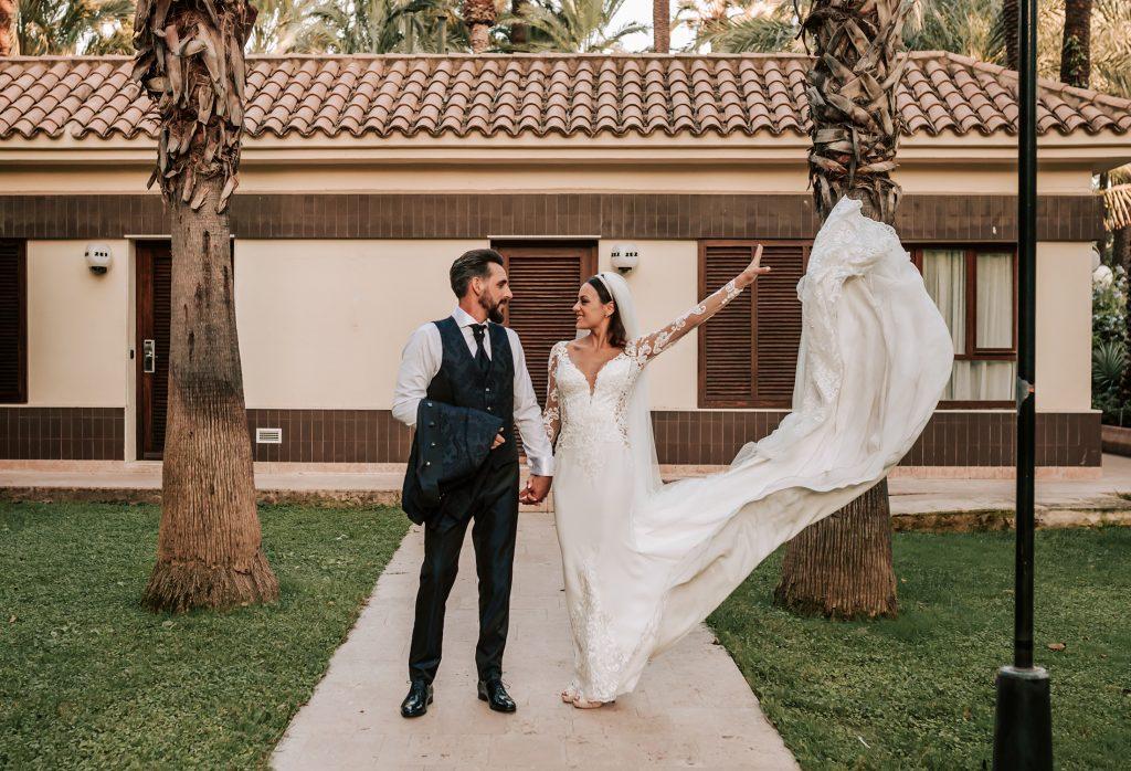 boda en hotel huerto del cura