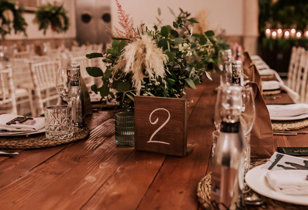 decoración de bodas andorina