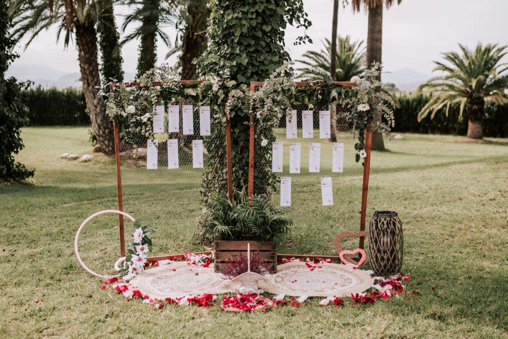 decoración boda novelda