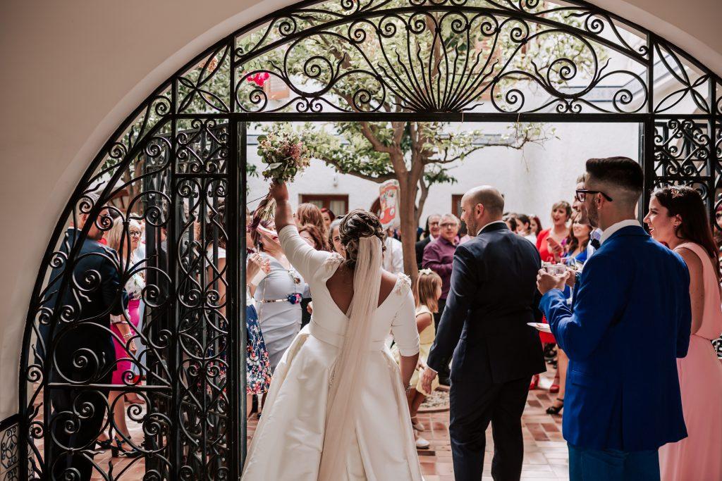 fotografía de boda en la hacienda de novelda